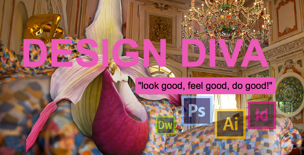 Freelance web design, development & graphic services - How i work - Adobe Suite Design Diva